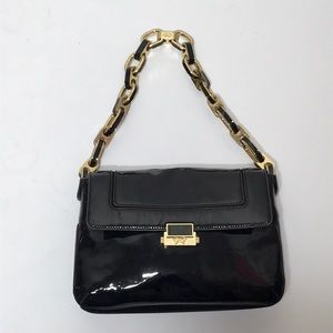 Authentic Anya Hindmarch black patent bag